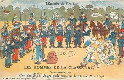 """CPA MILITAIRE """" Les hommes de la classe 1921"""""""