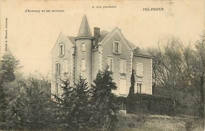 """CPA FRANCE 07 """"Pré Prieur, château d'Annonay"""""""