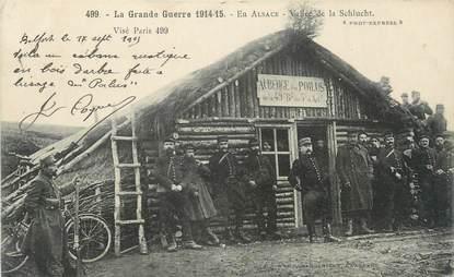 """CPA MILITAIRE FRANCE """" Alsace, La Vallée de Schlucht"""""""