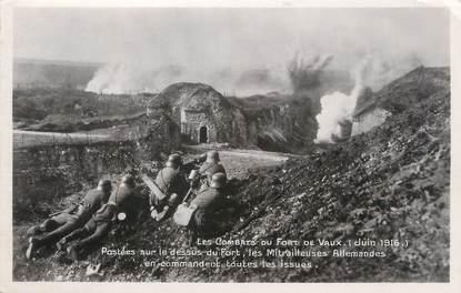 """CPA MILITAIRE """"Les combats du Fort de Vaux en juin 1916"""""""
