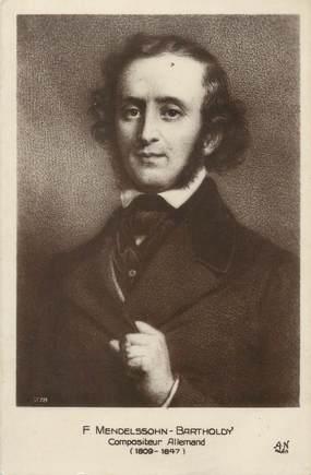 "CPA MUSIQUE / COMPOSITEUR ""F. Mendelssohn Bartholdy"""