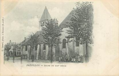 "CPA FRANCE 95 ""Frépillon, Eglise du XIIIeme siecle"""