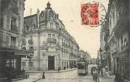 """45 Loiret / CPA FRANCE 45 """"Orléans, rue de la république"""" / LA BANQUE DE FRANCE"""