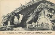 """Bateau CPA BATEAUX MILITAIRES FRANCE 83 """"Catastrophe du Liberté , les épaves"""""""