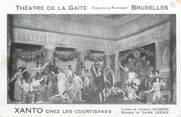 """Spectacle CPA THEATRE BELGIQUE """" Théâtre de la Gaité à Bruxelles"""""""