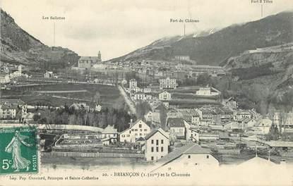 """CPA FRANCE 05 """"Briançon et la chaussée"""""""