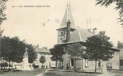 """CPA FRANCE 01 """"Oyonnax, Hotel de Ville"""""""