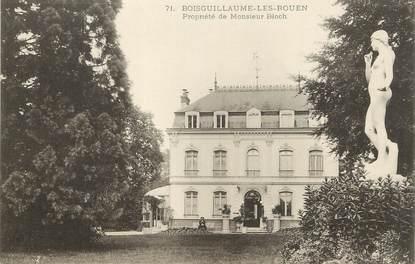 """/ CPA FRANCE 76 """"Boisguillaume les Rouen, propriété de Monsieur Bloch"""""""