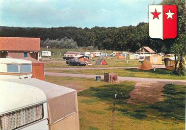 "CPSM FRANCE 62 "" Hesdin, le terrain de camping """