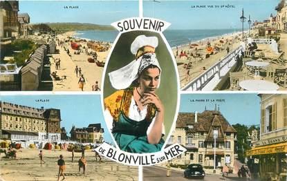 """CPSM FRANCE 14 """"Blonville sur Mer"""""""