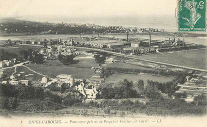 """CPA FRANCE 14 """"Cabourg, Panorama"""""""