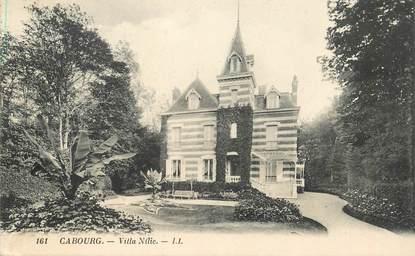 """CPA FRANCE 14 """"Cabourg, villa Nilic"""""""