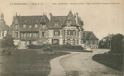 "CPA FRANCE 14 ""Cabourg, groupe de villas"""