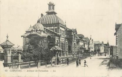 """CPA FRANCE 14 """"Cabourg, avenue de Versailles"""""""