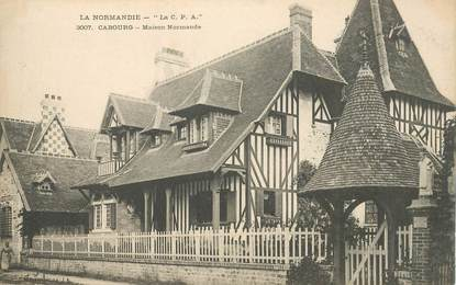 "CPA FRANCE 14 ""Cabourg, maison normande"""