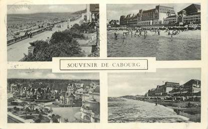 """CPA FRANCE 14 """"Cabourg"""" / Taxe au verso"""