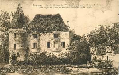 "CPA FRANCE 13 ""Rognac, le Chateau"""