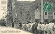 """10 Aube CPA FRANCE 10 """"Nogent sur Seine, catastrophe de la Malterie, 1911"""""""