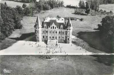 """CPSM FRANCE 10 """" Chateau de Montceaux-les-Vaudes, vue Aérienne """""""
