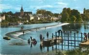 "72 Sarthe / CPSM FRANCE 72 ""Malicorne sur Sarthe, le barrage"""