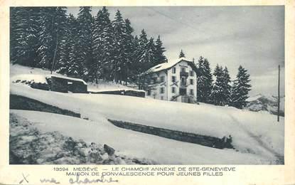 "CPA FRANCE 74 ""Megève, le Chamois"""