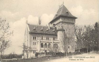 """CPA FRANCE 74 """"Contamine sur Arve, Chateau de Villy"""""""