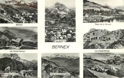 """CPSM FRANCE 74 """"Bernex"""" / CACHET PERLé"""