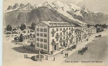 """CPA FRANCE 74 """"Chamonix, Hotel de Paris"""""""