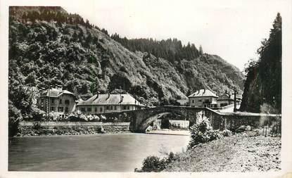 """CPSM FRANCE 74 """"Cluses, le vieux pont"""""""