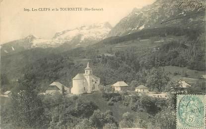 """CPA FRANCE 74 """"Les Clefs et la Tournette"""""""