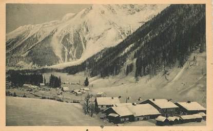 """CPA FRANCE 74 """"Env. d'Argentière, le massif du Mont Blanc"""""""