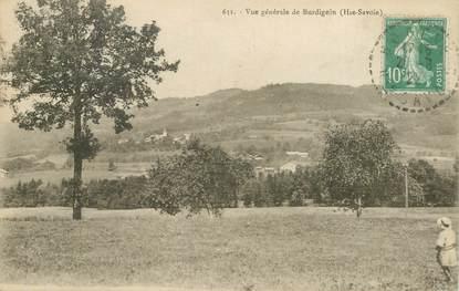 """CPA FRANCE 74 """"vue générale de Burdignin"""""""