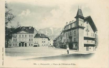 """CPA FRANCE 74 """"Bonneville, Place de l'Hotel de ville"""""""