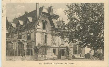 "CPA FRANCE 74 ""Maxilly, le chateau"""