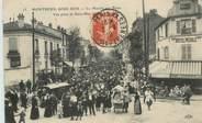 """93 Seine Saint Deni CPA FRANCE 93 """"Montreuil sous Bois, le marché aux puces"""""""