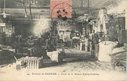 """CPA FRANCE 49""""Env. de Saumur, caves de la Maison Bouvet Ladubay"""""""