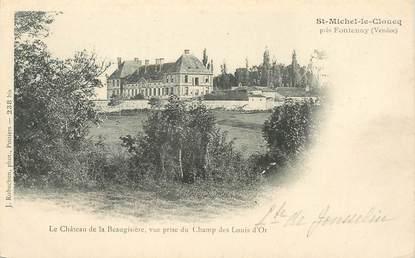 """CPA FRANCE 85 """"Saint Michel le Cloucq, le chateau de la Beaugisière"""""""