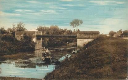 """CPA FRANCE 85 """"L'Ile d'Elle, pont du Contrebooth"""""""