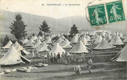 "CPA FRANCE 25 ""Pontarlier"" / MILITAIRE"