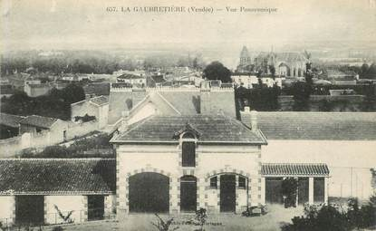 "CPA FRANCE 85 ""La Gaubretière"""