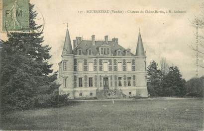 """CPA FRANCE 85 """"Bournezeau, chateau du Chêne Bertin"""""""