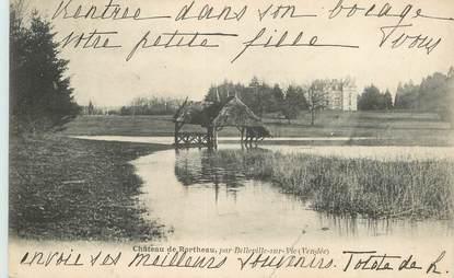 """CPA FRANCE 85 """"Chateau de Rortheau par Belleville sur Vie"""""""