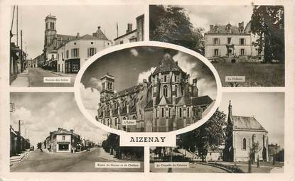 """CPSM FRANCE 85 """"Aizenay"""""""