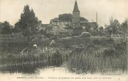 """CPA FRANCE 85 """"Mareuil sur Lay, pêcheurs de fantaisie"""""""