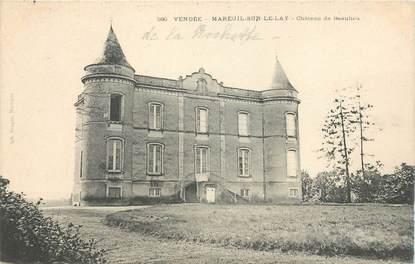 """CPA FRANCE 85 """"Mareuil sur Lay, chateau de Beaulieu"""""""