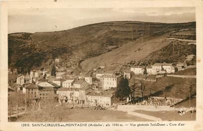 """CPA FRANCE 07 """"Saint Cirgues en Montagne"""""""