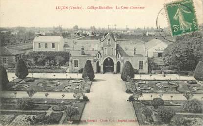 """CPA FRANCE 85 """"Luçon, Le collège Richelieu"""""""