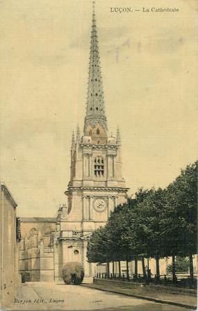 """CPA FRANCE 85 """"Luçon, La cathédrale"""""""