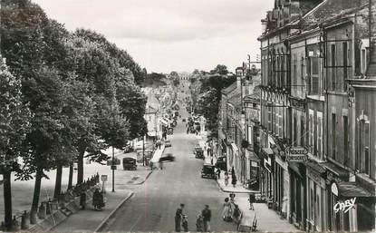 """CPSM FRANCE 85 """"Fontenay le Comte, rue Georges Clémenceau et rue de la République"""""""