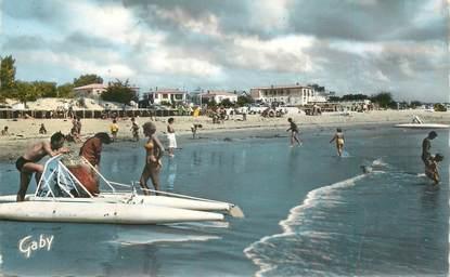 """CPSM FRANCE 85 """"La Tranche sur Mer, la plage et Hotel du Rêve"""""""